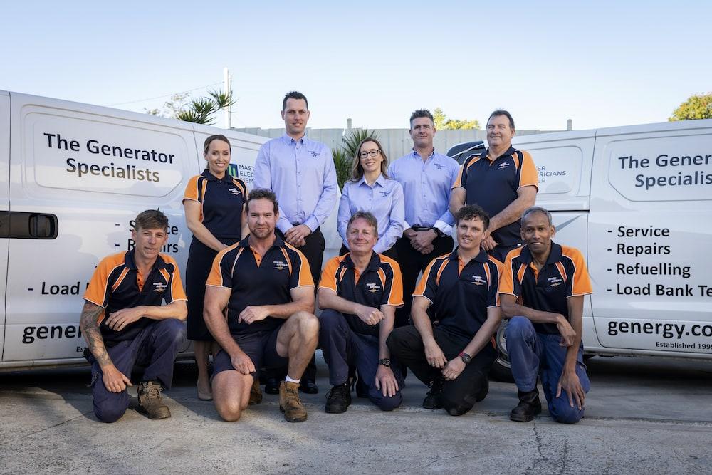 Genergy Australia group photo